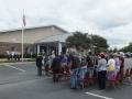 Flag Pole Dedication Thompson Funeral Home Lexington