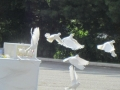 Dove Release at the Annual Candlelight Memorial Service - Diuguid Funeral Service
