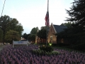September 11 Memorial Flag Display - Hankins & Whittington Funeral Home